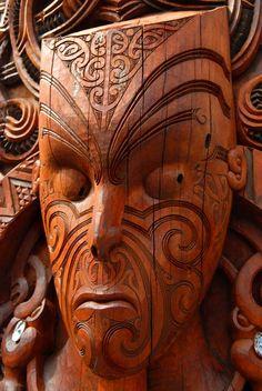 Maori mask...