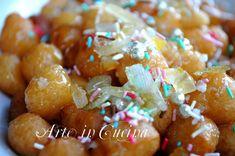 Struffoli napoletani ricetta dolci natalizi veloci | Arte in Cucina