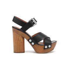 Step On Up - Mulberry platform sandals