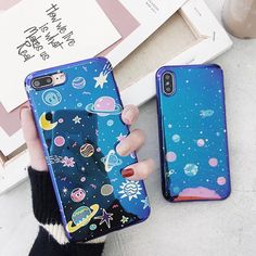 Outer Space Universe Solar System Blue-ray Soft Case Cover for iPhone X 6 7 8 - Blue Iphone 8 Case - Ideas of Blue Iphone 8 Case. - Outer Space Universe Solar System Blue-Ray Soft Case Cover For Iphone X 6 7 8 Cheap Iphone 7 Cases, Iphone 6 Cases, Iphone 6 Plus Case, Iphone 8, Cute Cases, Cute Phone Cases, Modelos Iphone, Accessoires Iphone, Iphone Leather Case