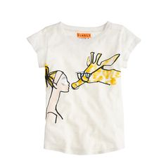 Donald Robertson keeps pretty busy. Not only is he the head of creative development at Bobbi Brown, but he's earned a cult following with his fun, fanciful and fashionable illustrations (thanks to his addicting Instagram®, @donalddrawbertson). Now she can join in on the fun with a collection of colorful tees, drawn exclusively for us. <ul><li>Cotton.</li><li>Machine wash.</li><li>Import.</li></ul>
