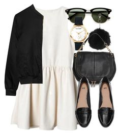 Untitled #4430 by laurenmboot ❤ liked on Polyvore featuring moda, Ray-Ban, Alygne, Topshop, Zadig & Voltaire, MANGO i H&M