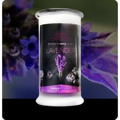 Lavender Jewelry Candles.  Full size 21oz jewelry candle - 100% all natural Soy candle burns for 100 to 150 hours. Jewelry in every candle.  YOU choose your scent!