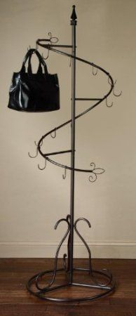 Amazon.com: Spiral Purse Tree Retail Rack Display - Pointed Top: Home & Kitchen