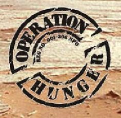 I got to spend a day serving for Operation Hunger in South Africa, it was a very humbling experience.