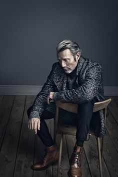 Mads Mikkelsen. Alexa Magazine/New York Post Cover Story Photographed by Henrik Bülow ///oh that shoes!