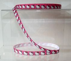#Hello #kitty grosgrain ribbon hot pink 10mm wide 1, 2, 5 or 10 metre #lengths,  View more on the LINK: http://www.zeppy.io/product/gb/2/172268490524/