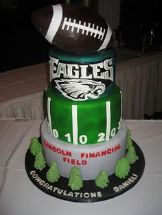 Philadelphia Eagles Th Birthday Cake