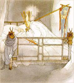 "Lisbeth Zwerger illustrates ""The Nightingale"""