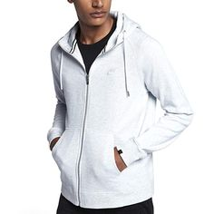 1aeef4d8b39eb NIKE Mens Sportswear Legacy Hooded Sweatshirt Review Full Zip Hoodie