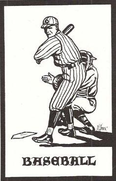 1923-24 UO baseball.  From the 1924 Oregana (University of Oregon yearbook).  www.CampusAttic.com
