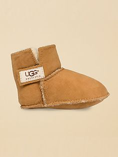 UGG Australia Infant's Erin Bootie. I would LOVE my beautiful grandbaby girl McKenzie to have little pink uggs. @Saks