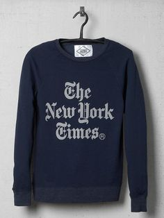 Piperlime   New York Times Stacked Sweatshirt