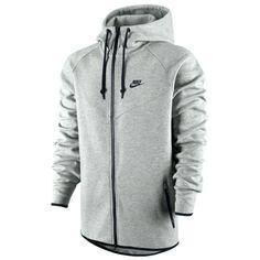 09966934333d Nike Tech Fleece Windrunner (m) Heather Grey - Unisex Clothing