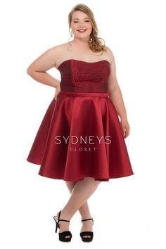 cd5583d5259 Новогодняя коллекция платьев для полных девушек и женщин американского  бренда Sydney s Closet 2018 (50 фото)
