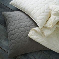 Braided Quilt + Shams - Ivory