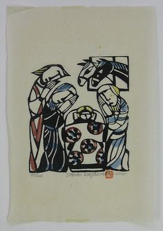 Japanese Art by the artist Sadao Watanabe | Scriptum Inc