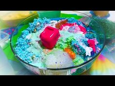 MIXING 17 GLITTER SLIMES TOGETHER!!! SLIME SMOOTHIE CHALLENGE! SO FUN!! - YouTube