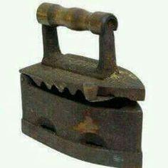 Village iron. Its codless