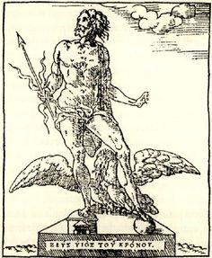 Άγαλμα του Δία από την Κρήτη, που βρισκόταν στην κατοχή Βενετού στην Αλεξάνδρεια. 1556 - THEVET, André - ME TO BΛΕΜΜΑ ΤΩΝ ΠΕΡΙΗΓΗΤΩΝ - Τόποι - Μνημεία - Άνθρωποι - Νοτιοανατολική Ευρώπη - Ανατολική Μεσόγειος - Ελλάδα - Μικρά Ασία - Νότιος Ιταλία, 15ος - 20ός αιώνας