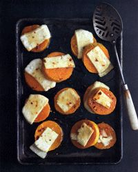 Roasted Butternut Squash with fresh Tuscan Pecorino and Devil's Honey - Yummy
