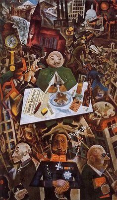 Germany : A winter's tale, George grosz, 1919 Mondrian, Keith Haring, Norman Rockwell, Rembrandt, Matisse, Monet, Pop Art, Art Ancien, Deco Retro