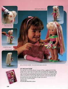 Lil Miss Magic Hair. Toys from the 80s