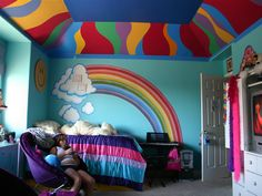 1000 Images About Rainbow Dash Bedroom Ideas On Pinterest