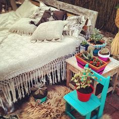 A blanket with fringe instead of a bead skirt love it!!!!!