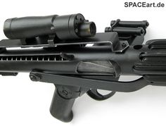 Star Wars: Stormtrooper E-11 Blaster, Fertig-Modell ... http://spaceart.de/produkte/sw013.php