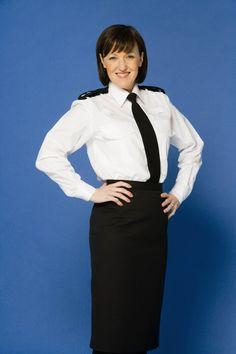 County Jail, Women Ties, British Actresses, Cops, Sally, Police, Mac, High Neck Dress