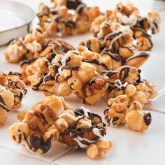 Chunky Caramel Popcorn | Easy Cookbook Recipes