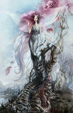 Mulher flor