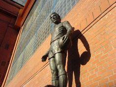 John Greig statue outside Ibrox