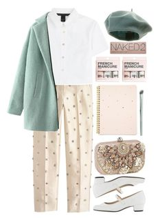 """Untitled #377"" by yasmin-louise ❤ liked on Polyvore featuring J.Crew, Marc by Marc Jacobs, American Apparel, H&M, Urban Decay, Accessorize and Mally"