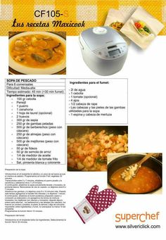 Lunch, Dinner, Breakfast, Fish Soup, Food Recipes, Food Processor, Diners, Thermomix, Dining