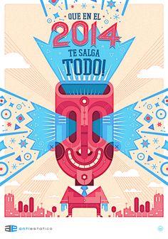 Illustrations 2014 on Behance