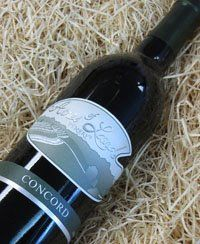 """Acres of Land """"Concord"""" Wine   Made in my Hometown~~"""