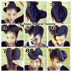 Victory rolls Hairstyles for black women | Victory Rolls