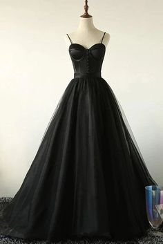 Charming Black Long Party Gowns, Black Evening Prom Dress - Charming Black Long Party Gowns, Black Evening Prom Dress – BeMyBridesmaid Source by cilenealba - Long Party Gowns, Black Party Dresses, Black Wedding Dresses, Cheap Bridesmaid Dresses, Prom Dresses, Dress Black, Sweetheart Prom Dress, Tulle Prom Dress, Tulle Lace
