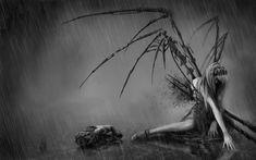 Dark Fantasy Art Fallen Angels   _com anime fantasy dark horror evil fallen angels cg digital art ...