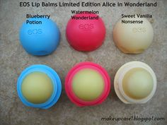 Makeup Case: EOS Lip Balms