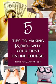 E-courses are a great way to make money, particularly if you're hoping to develop passive income. Learn how I marketed my very first e-course! Make Money Blogging, Make Money From Home, Money Tips, Way To Make Money, Make Money Online, Saving Money, How To Make, Money Making Machine, Create A Calendar