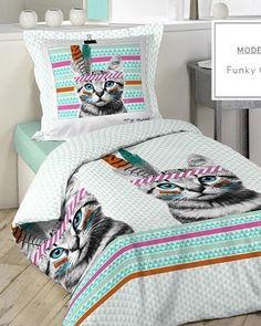 postelne-bavlnene-obliecky-140x200cm-s-mackou Quilts, Blanket, Bed, Furniture, Home Decor, Decoration Home, Stream Bed, Room Decor, Quilt Sets