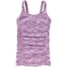 Breathe Spacedye Cami - The amazingly soft, stretchy top with feminine ruching and just enough performance in the blend to cross over into your workout or practice.