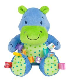 Take a look at this Blue Fun Lovin' Pal Hippo by Taggies on #zulily today!