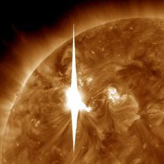March 07, 2012 — WASHINGTON (AP) — The largest solar storm in five years is racing toward Earth, threatening to unleash a torrent of charged particles that could disrupt power grids, GPS and airplane flights.  The sun erupted Tuesday evening, and the effects should start smacking Earth between 1 a.m. and 5 a.m. EST Thursday (0600 GMT and 1000 GMT), according to forecasters at the U.S. government's Space Weather Prediction Center.
