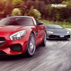 AMG GT VS Huracan