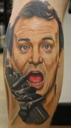 Bill Murray tattoo FTW.