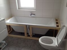 badombouw - Google Search Alcove, Bathtub, Bathroom, Google Search, Standing Bath, Washroom, Bathtubs, Bath Room, Bath